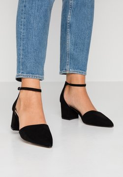 Bianco Wide Fit - WIDE FIT BIADIVIDED - Klassieke pumps - black