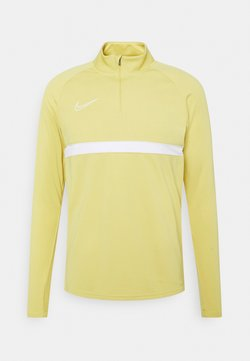 Nike Performance - ACADEMY DRIL - Funktionsshirt - saturn gold/white/white/white