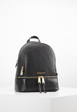 MICHAEL Michael Kors - RHEA ZIP BACKPACK SMALL - Reppu - black