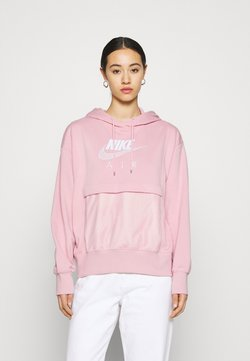 Nike Sportswear - AIR HOODIE - Kapuzenpullover - pink glaze/white