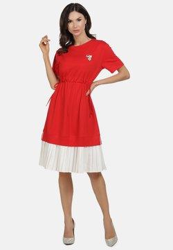 faina - Cocktailkleid/festliches Kleid - rot weiss