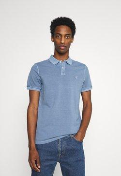 Marc O'Polo - SHORT SLEEVE BUTTON PLACKET - Poloshirt - kashmir blue