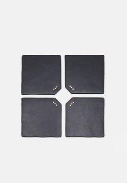 Royal RepubliQ - DINING COASTERS UNISEX 4 PACK - Accessorio - black