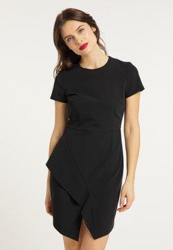 usha - Vestido de tubo - schwarz