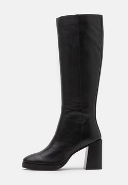 ASRA - KINGDOM - High heeled boots - black