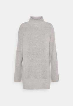 Nly by Nelly - TURTLE NECK - Pullover - light grey melange