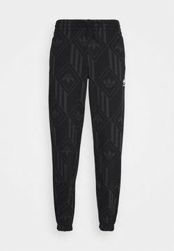 adidas Originals - MONO - Pantalon de survêtement - black/boonix