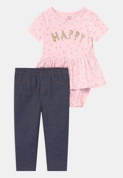 Carter's - PEPLUM SET - Camiseta estampada - pink