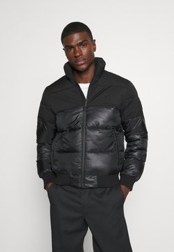 Calvin Klein Jeans - MATTE AND SHINE PUFFER - Winterjacke - black