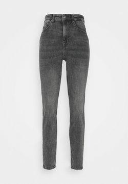 Pieces - PCLILI HIGH WAIST - Slim fit jeans - medium grey denim