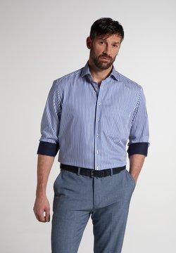 Eterna - COMFORT FIT - Hemd - blau/weiß