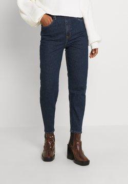 Tommy Jeans - MOM UHR - Jeans Tapered Fit - denim dark