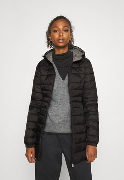 ONLY - ONLNEWTAHOE QUILTED COAT  - Talvitakki - black