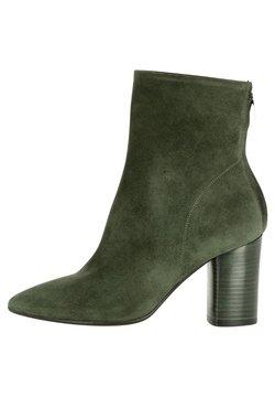 Evita - Stiefelette - dunkelgrün