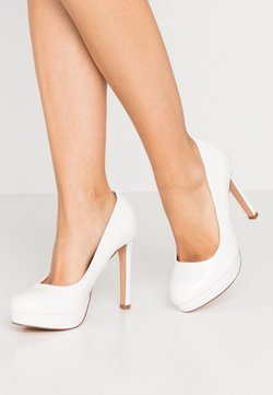Even&Odd Wide Fit - High Heel Pumps - white