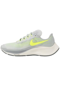 Nike Performance - AIR ZOOM PEGASUS 37 UNISEX - Neutrala löparskor - grey fog/volt/smoke grey/sail