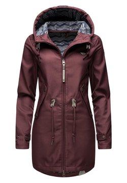 Ragwear - LEANNE - Wintermantel - dark red