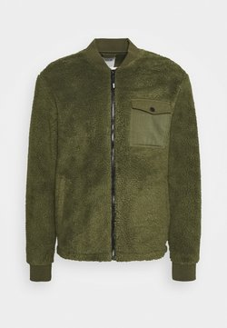 Solid - JACKET BOMBER - Bombejakke - forest night