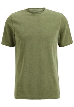 WE Fashion - T-shirt basic - green