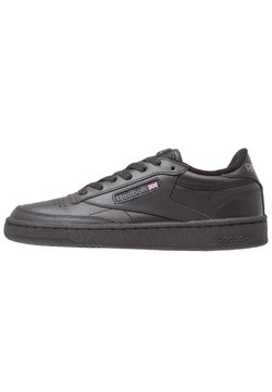 Reebok Classic - CLUB C 85 LEATHER UPPER SHOES - Matalavartiset tennarit - black/charcoal