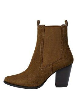 Mango - LANA - Classic ankle boots - tobacco-braun