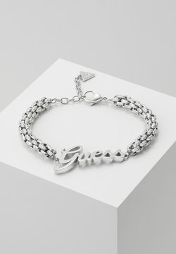 Guess - LOGO POWER - Armband - silver-coloured