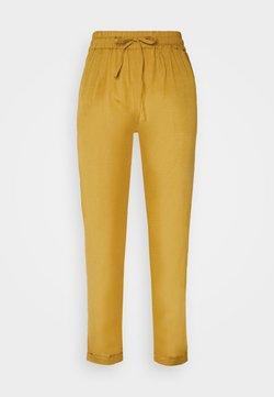 ONLY - ONLVIVA LIFE PANT  - Pantalones - golden spice