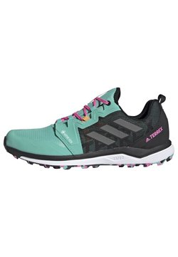 adidas Performance - TERREX AGRAVIC GORE-TEX TRAILRUNNING-SCHUH - Zapatillas de running neutras - green