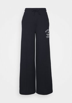 Fiorucci - COMMENDED WIDE LEGGED TRACKPANTS - Jogginghose - blue