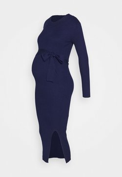 Glamorous Bloom - MIDI DRESS WITH BELT - Vestido ligero - navy
