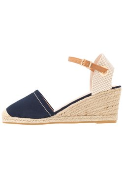 Dorothy Perkins Wide Fit - WIDE FIT ROSE PART - Espadrilles - navy