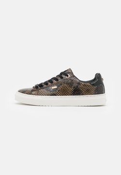 Mexx - CRISTA - Sneakers laag - black/brown