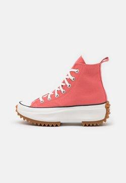 Converse - RUN STAR HIKE UNISEX - Sneakers hoog - terracotta pink/vintage white/honey