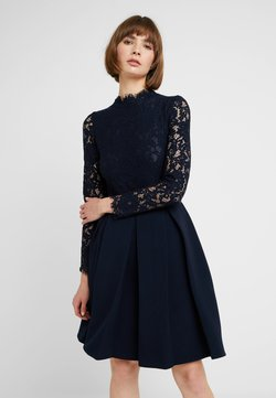 Molly Bracken - LONG SLEEVES - Cocktailkleid/festliches Kleid - navy blue