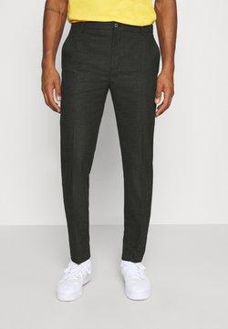 Calvin Klein Tailored - CHECK STRETCH PANTS - Broek - grey