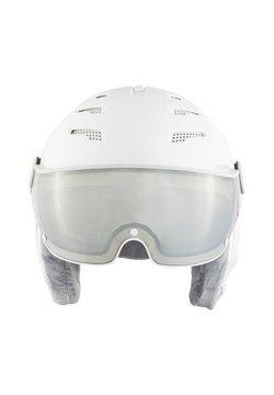 Alpina - Helm - white-grey matt