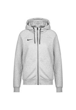 Nike Performance - PARK - Hoodie met rits - dark grey heather / black
