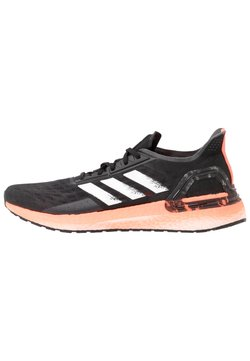 adidas Performance - ULTRABOOST PB DNA SPORTS RUNNING SHOES - Laufschuh Neutral - core black/footwear white/signal coral