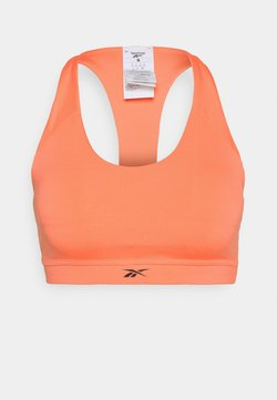 Reebok - WORKOUT READY MEDIUM IMPACT BRA - Sport-BH mit mittlerer Stützkraft - twisted coral