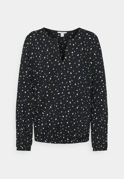 edc by Esprit - PRINT BLOUSE - Blouse - black
