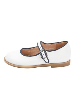 Next - SILVER LEATHER MARY JANE SHOES (YOUNGER) - Lauflernschuh - white
