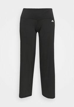adidas Performance - DESIGNED 2 MOVE AEROREADY SLIM - Pantaloni sportivi - black/white