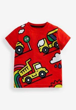 Next - Camiseta estampada - red