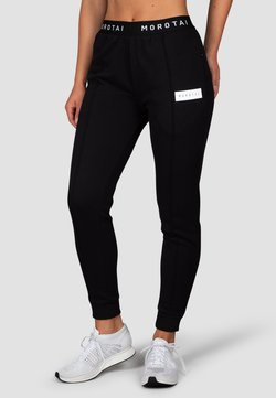 MOROTAI - CROPPED PLEAT  - Jogginghose - schwarz