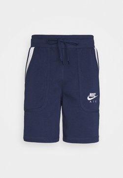 Nike Sportswear - AIR SHORT - Jogginghose - midnight navy/black/white