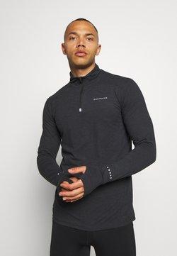 Endurance - ABBAS MIDLAYER - Camiseta de deporte - black