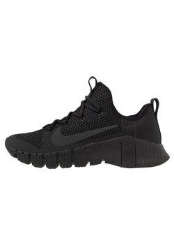 Nike Performance - FREE METCON 3 - Sports shoes - black/anthracite/volt