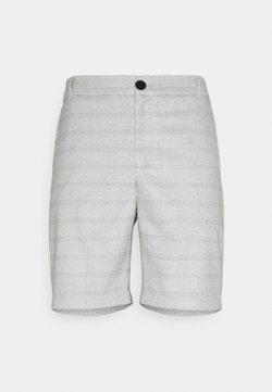 Cars Jeans - CHARLIE CHECK - Shorts - stone grey