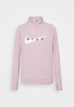 Nike Performance - RUN MIDLAYER - Funktionsshirt - iced lilac/white