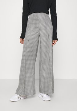 Weekday - PETRA TROUSER - Stoffhose - dogtooth